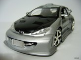SOLIDO 1:18 Peugeot 206 Tuning