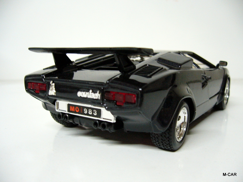 bburago lamborghini countach 5000 quattrovalvole bburago. Black Bedroom Furniture Sets. Home Design Ideas